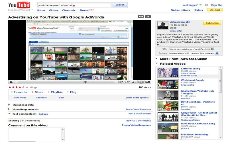 YT screen shot