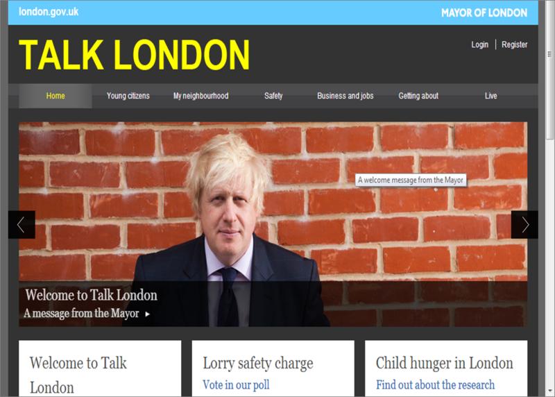 Talk london 2