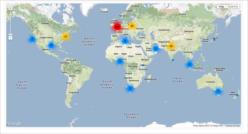 My tweet map