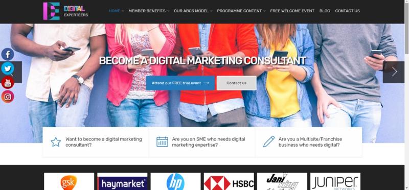 Web site shot